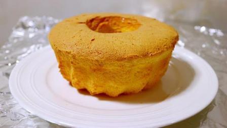 小鲁教你做糕点之无油柠檬戚风蛋糕, 好吃不油腻, 正式减肥中的美女们的小吃首选~