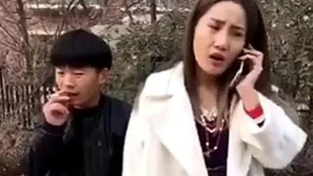 农村漂亮女的带男朋友回家见父母, 偷听到她的电话后, 男友腿发软