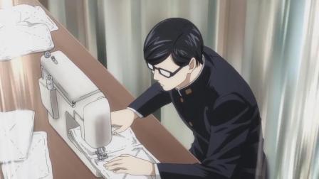 《在下坂本,有何贵干?》坂本居然制作体操服,真是全能