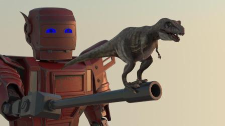 科幻网剧《恐龙和外星人》第3集:恐龙遇难