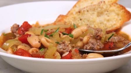 如何做茄茴香味的意大利香肠芝士烤面包