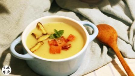 天冷了该是来点热乎的了, 这道中式的土豆浓汤一定会让你爱上, 家里有宝宝的一定要试试
