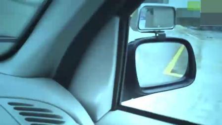驾考科目二最头痛的倒车入库如何通过? 老司机一招就轻松解决了!