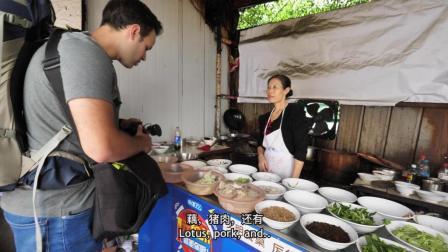 吃货老外被四川自贡菜被辣哭