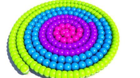 制作汉堡和蛋糕玩具视频之制作棒棒糖玩具模具视频12