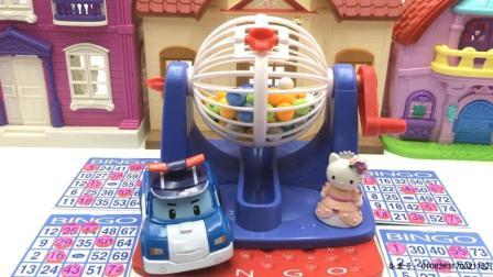 变形警车珀利和凯蒂猫玩摇奖机 22
