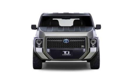 巨无霸混动跨界SUV-丰田Tj Cruiser Concept 造型比悍马霸气