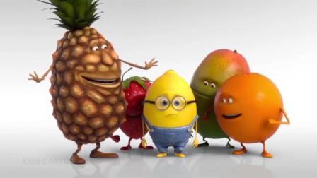 疯狂小黄人和蔬菜朋友们教小朋友学习颜色