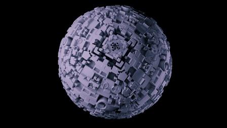 C4D+PS制作人造小行星中文视频教程