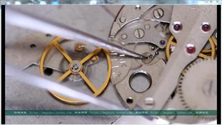 秘籍-手工校准机械手表偏振(上)