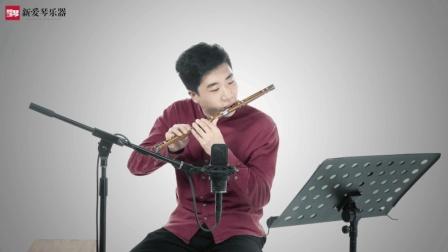新爱琴从零开始学竹笛公益课程第五十七课  考级篇  《卖菜》讲解(三)