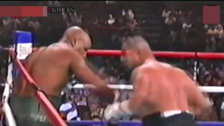 世界级拳王: 来自萨摩亚大卫图阿绰号泰森二世! 期待泰森和他一站!