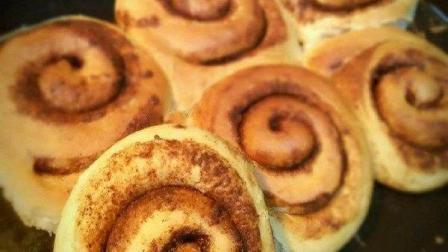 小鲁教你做西餐之自制瑞典肉桂卷, 香甜可口的美味肉桂卷, 终于自己在家也能做了