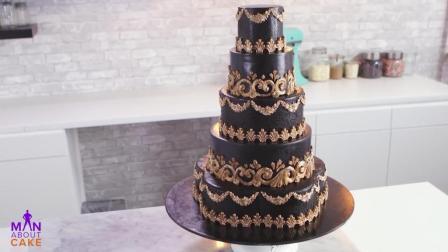 教你怎么做万圣节蛋糕, 一款充满梦幻的哥特式结婚蛋糕