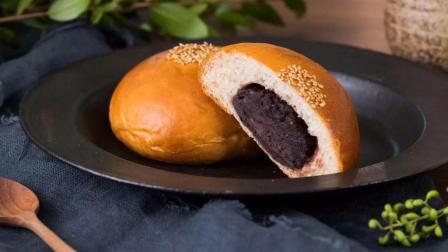 美食台 | 豆沙馅的面包, 清新搭配味道妙!