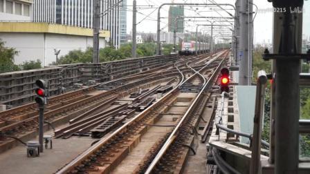 道岔在铁路线路上起到的重要作用, 地铁道岔变岔.
