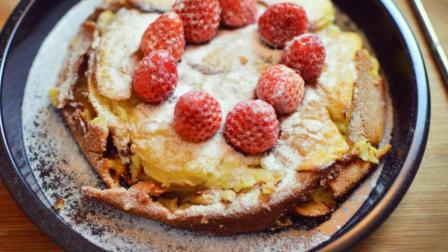 苹果的创新吃法, 把它做成水果派既能当小蛋糕又有营养, 一看就会