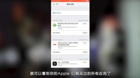 iPhone新增AppStore购买记录