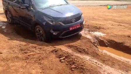 印度塔塔汽车越野性能测试, 开挂民族果然不一般