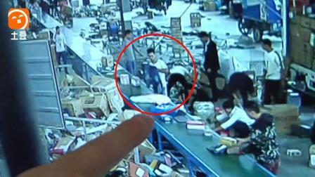 快递员监守自盗偷万元包裹, 监控拍下全过程