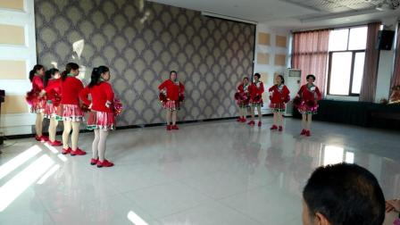 红红的中国  彭山区毛店凤姐舞蹈队