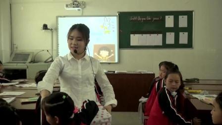 PEP英语三年级下册Unit5Doyoulikepears课堂实录饶逸馨上
