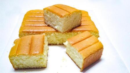 2分钟学会制作简单美味好吃的海绵蛋糕