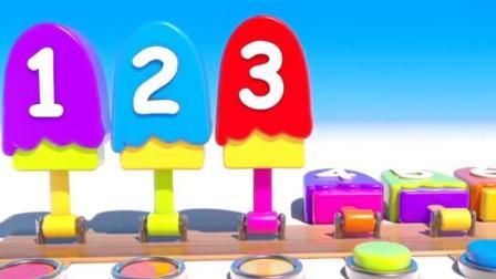 制作冰淇淋的玩具模具之做汉堡和蛋糕玩具视频4