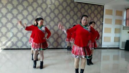 红马鞍   彭山毛店凤姐舞蹈队