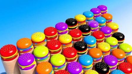 制作蛋糕和汉堡玩具视频  制作冰淇淋的玩具模具视频89