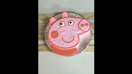佩佩豬造型蛋糕⬛創意蛋糕簡單製作