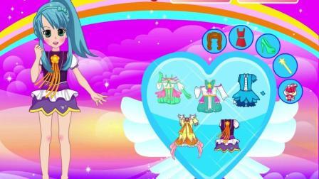 公主打扮小游戏巴拉拉小魔仙之双子公主