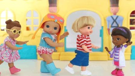婴儿芭比娃娃的趣事, 宠物医院给动物看病