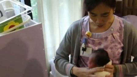 新生儿吃饱后吐奶, 月子里婴儿换尿片包包巾的技巧记得要收藏好!
