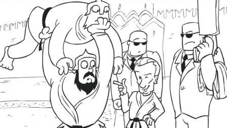 国外牛人自己编辑配音的搞笑动画-普京的签名