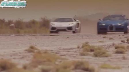 世界顶级跑车布加迪威龙对战兰博基尼, 超跑飚车就是不一样