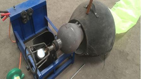 自动爆米花机, 老式大炮嘣栗子机