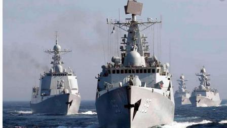 天壤地別! 中國新軍艦頻頻下餃子, 美軍還在繼續使用老軍艦