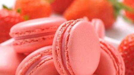 草莓马卡龙蛋糕做法教程, 在家就可以DIY的甜品