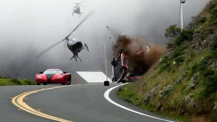 电影大片中的火爆追车场面是怎么拍摄的