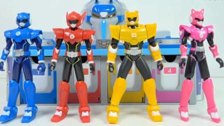 变形金刚玩具视频 大黄蜂 无影克战士 会说话的机器人