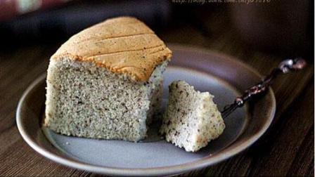 小鲁教你做糕点之自制黑芝麻糊戚风蛋糕, 香甜酥软, 完美!