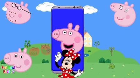 益智动画, 和小猪佩奇头像平板一起学习颜色