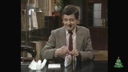 憨豆先生去图书馆不出声音一样搞笑