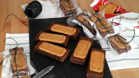 布朗尼蛋糕和饼干在一起是什么感觉? 那就一起学学看, 非常好吃