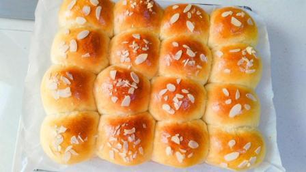 2分钟学会制作松软好吃的早餐小面包