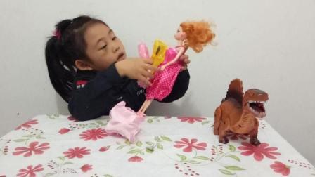 亲子游戏芭比娃娃变装舞会 趣盒子儿童早教欢乐谷