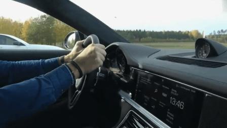 奔驰S63挑战保时捷帕拉梅拉, 中后段飙车实测, 不愧是AMG!