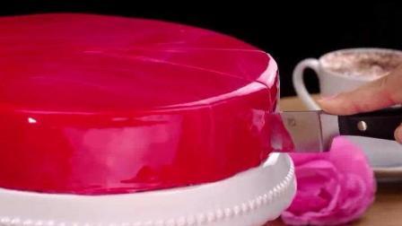 蛋糕裱花视频, 看着简单, 其实做起来也不难, 蛋糕淋面技巧