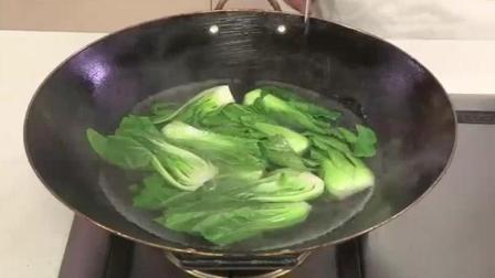 上海青扒鲜蘑——详细做法